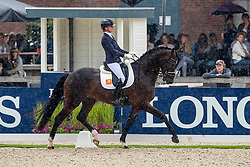 Scholtens Emmelie, NED, Johnny Be Goode<br /> World Championship Young Dressage Horses - Ermelo 2019<br /> © Hippo Foto - Dirk Caremans<br /> Scholtens Emmelie, NED, Johnny Be Goode