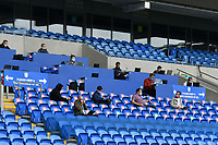 Football - 2019 / 2020 Sky Bet EFL Championship - Cardiff City vs. Leeds United<br /> <br /> the press seats in a match played with no fans after the cover 19 pandemic,, at Cardiff City Stadium.<br /> <br /> COLORSPORT/WINSTON BYNORTH