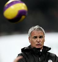 Fotball<br /> Italia<br /> Foto: Inside/Digitalsport<br /> NORWAY ONLY<br /> <br /> 01.12.2007<br /> Milan v Juventus (0-0)<br /> <br /> Juventus trainer Claudio Ranieri