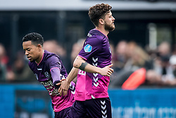 (L-R) Urby Emanuelson of FC Utrecht, Mateusz Klich of FC Utrecht during the Dutch Eredivisie match between Feyenoord Rotterdam and FC Utrecht at the Kuip on April 15, 2018 in Rotterdam, The Netherlands