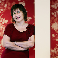 Nederland, Amsterdam , 5 november 2009..Lilianne Ploumen, voorzitter van de Partij van de Arbeid. Lilianne Ploumen, chairwoman of the Dutch social democratic party PvdA.