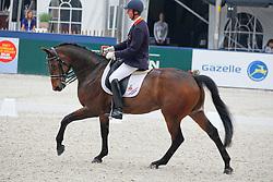 Hosmar Frank (NED) - Tiesto<br /> Nederlands kampioenschap aangepaste sport Grade IV<br /> Outdoor Gelderland - De Steeg 2010<br /> © Dirk Caremans