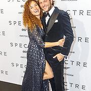 NLD/Amsterdam/20151028 - Premiere James Bondfilm Spectre, Katja Schuurman en partner Freek van Noortwijk