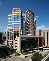 MD Anderson Cancer Center Pavilion at the Texas Medical Center in Houston, Texas.