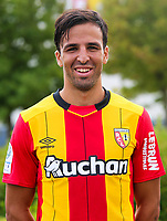 Filip Markovic during photoshooting of RC Lens for new season 2017/2018 on October 5, 2017 in Lens, France<br /> Photo by RC Lens / Icon Sport