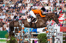 Elaine Pen, (NED), Vira - Jumping Eventing - Alltech FEI World Equestrian Games™ 2014 - Normandy, France.<br /> © Hippo Foto Team - Jon Stroud<br /> 31-08-14