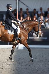 Van Baalen Marlies, (NED), Dion Johnson<br /> Glock Prijs Lichte Tour Finale<br /> Dutch Championship Dressage - Ermelo 2015<br /> © Hippo Foto - Dirk Caremans<br /> 18/07/15