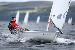 Day 4 NeilPryde Laser National Championships 2014 held at Largs Sailing Club, Scotland from the 10th-17th August.<br /> <br /> 164685, Callum FORSYTH<br /> <br /> Image Credit Marc Turner