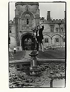 Tom Henry, Christchurch Ball. Oxford. 1984