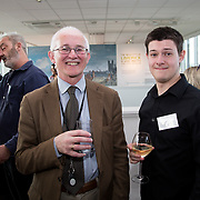 19.06. 2017.                                             <br /> University of Limerick hosts the 5th Global Conference on Transparency Research.<br />  Attending the launch of the event in King Johns Castle were, Dr. matthew Potter, Curator Limerick Museum and Connel McKeown, Queens University Belfast. Picture: Alan Place