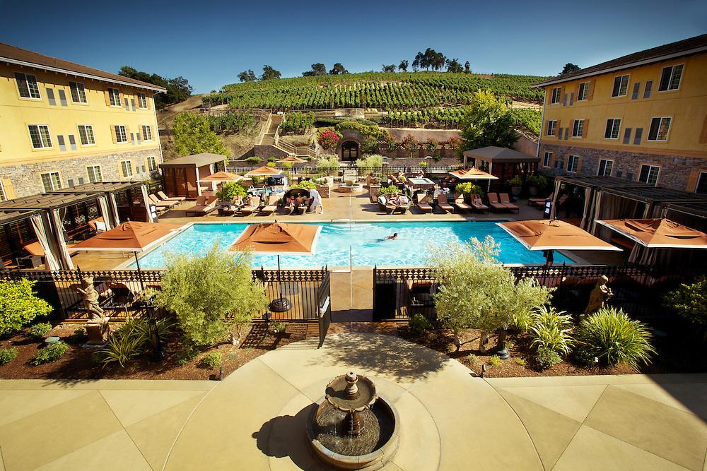 The Meritage Resort pool