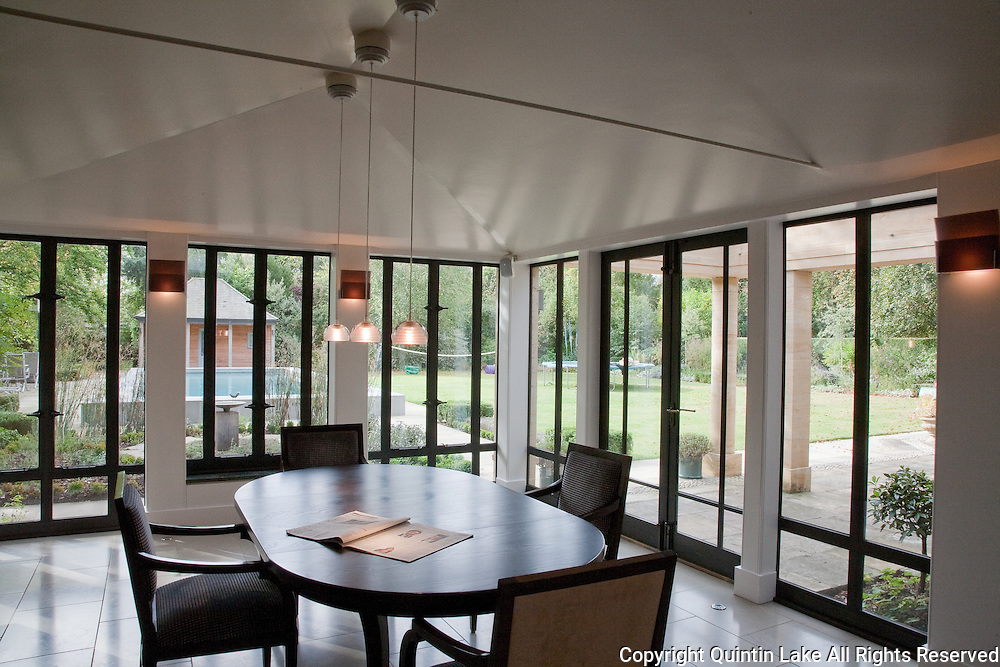 Additions to a private house by Oriel Prizeman Architect, on Latham Road in Cambridge, England