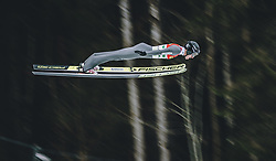 16.02.2020, Kulm, Bad Mitterndorf, AUT, FIS Ski Flug Weltcup, Kulm, Herren, 2. Wertungsdurchgang, im Bild Gregor Deschwanden (SUI) // Gregor Deschwanden of Switzerland during his 2nd Competition Jump for the men's FIS Ski Flying World Cup at the Kulm in Bad Mitterndorf, Austria on 2020/02/16. EXPA Pictures © 2020, PhotoCredit: EXPA/ Dominik Angerer