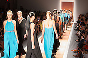 The finale of the Cesar Galindo Spring 2013 show at Mercedes Benz Fashion Week in New York.