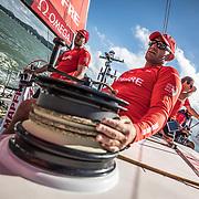 Itajai stopover, Practice Race on board MAPFRE. 18 April, 2018.