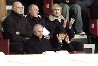Photo: Olly Greenwood.<br />Arsenal v Liverpool. The Barclays Premiership. 12/03/2006.England manager Sven Goran Eriksson and Nancy