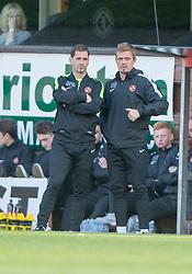 Dundee United's manager Jackie McNamara. <br /> Dundee United 1 v 1 Inverness Caledonian Thistle, SPFL Ladbrokes Premiership game played 19/9/2015 at Tannadice.