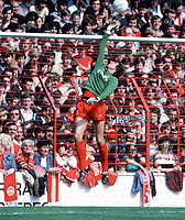 Fotball<br /> Liverpool<br /> Foto: Colorsport/Digitalsport<br /> NORWAY ONLY<br /> <br /> Ray Clemence (Liverpool) 1979/80.