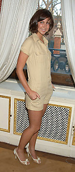 Actress MARGO STILLEY at a fashion show featuring the Miss Selfridge Autumn/Winter '05 collections held at The Wallace Collection, Manchester Square, London W1 on 6th April 2005.<br />