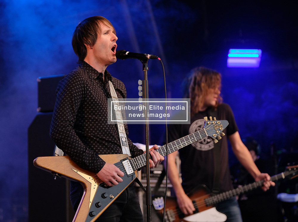 Party at the Palace, Linlithgow, Saturday 12th August 2017<br /> <br /> Ash performs at Party at the Palace <br /> <br /> (c) Alex Todd | Edinburgh Elite media