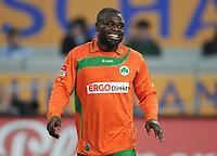 Fotball<br /> Tyskland<br /> 02.03.2012<br /> Foto: Witters/Digitalsport<br /> NORWAY ONLY<br /> <br /> Gerald Asamoah (Fuerth)<br /> <br /> 2. Bundesliga, MSV Duisburg - SpVgg Greuther Fürth