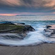 Catalina View - Aliso Creek Beach - Sunset