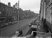 Views of Pearse St. & St. Andrews Church, Westland Row .30/10/1958