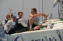Williams and his GAC Pindar team during qualyfing. Photo:Chris Davies/WMRT.