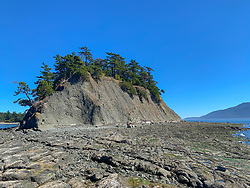 United States, Washington, San Juan Islands, Sucia Island