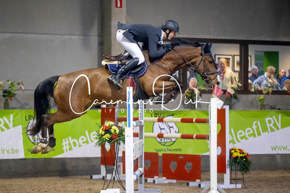 Tormans Martijn, BEL, Origi van't Roosakker<br /> Nationaal Indoorkampioenschap  <br /> Oud-Heverlee 2020<br /> © Hippo Foto - Dirk Caremans