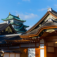 The faithfully restored Hommaru Palace at Nagoya Castle - a space for the Tokugawa Shogunate circa 1615, fatefully restored in 2009