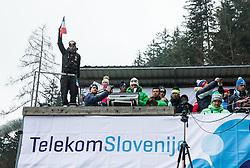 Damien Maître, coach of France during 2nd Round at Day 2 of World Cup Ski Jumping Ladies Ljubno 2017, on February 12, 2016 in Ljubno ob Savinji, Slovenia. Photo by Vid Ponikvar / Sportida