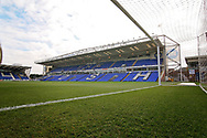 A general view of the Abax Stadium before the EFL Sky Bet League 1 match between Peterborough United and Accrington Stanley at London Road, Peterborough, England on 20 October 2018.