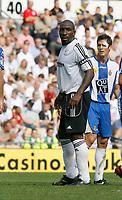 Photo: Steve Bond.<br />Derby County v RCD Espanyol. Pre Season Friendly. 04/08/2007. Temporary captain Darren Moore