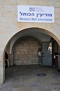 Israel, Jerusalem, Old City Wailing Wall Western Wall Information,