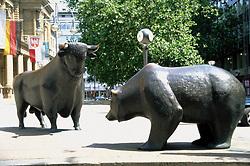 Dec. 14, 2012 - Stock Exchange, Frankfurt, Germany (Credit Image: © Image Source/ZUMAPRESS.com)