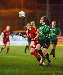 Stirling University Womens Football Club v Forfar Farmington Football Club, Scottish Building Society SWPL game played 25/10/2019 at Stenhousemuir's Ochilview Park.