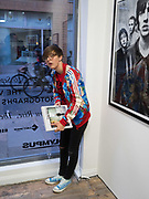 RUBY CHAMBURY, The Verve, photographs by Chris Floyd ... Art Bermondsey Project Space, London. 6 September 2017