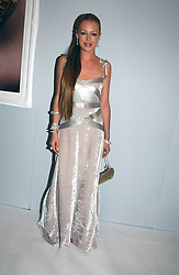 CAT DEELEY at the Moet & Chandon Fashion Tribute 2005 to Matthew Williamson, held at Old Billingsgate, City of London on 16th February 2005.<br /><br />NON EXCLUSIVE - WORLD RIGHTS