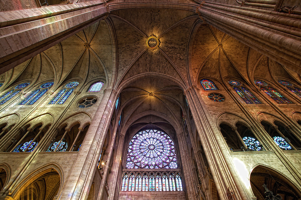 """Notre-Dame de Paris, French for """"Our Lady of Paris"""", also known as Notre-Dame Cathedral, is a historic Catholic cathedral in the fourth arrondissement of Paris, France. The cathedral is widely considered to be one of the finest examples of French Gothic architecture and among the largest and most well-known church buildings in the world."""