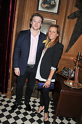 BROOKE HITCHING and LUCY WEST at a party to celebrate the launch Mr Fogg's, 15 Bruton Lane, London W1 on 21st May 2013.