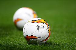 Close up of the official UEFA Europa League ball