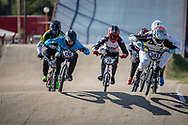 #593 (CAMPO Alfredo) ECU  at Round 9 of the 2019 UCI BMX Supercross World Cup in Santiago del Estero, Argentina