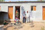 "21 April 2016 - Gategaon, Latur - INDIA.<br /> <br /> EXCLUSIVE FEATURE<br /> India drought drives farmers to suicide<br /> <br />  Mahakant Mali hanged himself from a mango tree a short distance from his farm a few weeks ago, a victim of the severe drought affecting central India<br /> <br /> Mali's soya bean crop had withered away and he had racked up loans of 150,000 rupees as he bored wells to find water in Maharashtra state.<br /> <br /> On a Monday evening, the 55-year-old told his wife he was going to meet a friend and did not return. A child discovered his body the following morning.<br /> <br /> ""What can I do?"" says his widow Kamalbai at their home in Gategaon, one of 943 villages in Maharashtra's Latur district.<br /> <br /> Latur is part of the state's predominantly agricultural Marathwada region, where 273 farmers committed suicide between January and March this year.<br /> <br /> The area is among the worst affected by the drought and some families in Latur have left for cities such as the state capital Mumbai, nearly 500 kilometres away. In Latur town, there are huge queues at water storage tanks that are fed from dams. People wait in the searing heat for hours, sometimes the entire day, to fill up their containers. Police guard some of the tanks to prevent fights.<br /> <br /> Water is also being supplied to Latur by rail, with two 50-wagon trains arriving last week. The water is first taken to a filtration plant before being distributed across the town by lorry.<br /> <br /> The Indian government says about 330 million people in 10 states are affected by the drought, which has been blamed on two consecutive years of poor monsoon rainfall. Adding to their misery, temperatures are above 40°C – unusually high for the time of year.<br /> <br /> Widespread production of sugar cane, a water intensive crop, in Maharashtra's Marathwada region, which includes the districts of Latur, Beed and Osmanabad, is also widely blamed for draining water resources.<br /> <br /> ""The priority is drinking water and getting food grains to the people,"" says Saqueb Osmani, the disaster managemen"