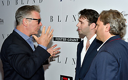 L-R: Actor Alec Baldwin, actor/writer John Buffalo Mailer and director Michael Mailer attend the NY premiere of Blind at the Landmark Sunshine Cinemas in New York, NY on June 26, 2017.  (Photo by Stephen Smith) *** Please Use Credit from Credit Field ***