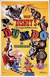 1941, Film Title: DUMBO, Director: BEN SHARPSTEEN, Studio: DISNEY, Pictured: BEN SHARPSTEEN, CARTOON, ILLUSTRATION, DUMBO, CIRCUS, POSTER ART, ANIMATION, DISNEY ANIMATION. (Credit Image: SNAP/ZUMAPRESS.com) (Credit Image: © SNAP/Entertainment Pictures/ZUMAPRESS.com)