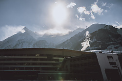 THEMENBILD - Blick auf das Kitzsteinhorn mit einem Teil der Tauern SPA, aufgenommen am 16. Januar 2021 in Kaprun, Österreich // View of the Kitzsteinhorn with part of the Tauern SPA, Kaprun, Austria on 2021/01/16. EXPA Pictures © 2021, PhotoCredit: EXPA/ JFK