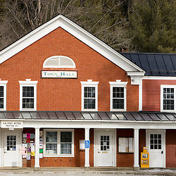 The Grafton, Vermont town hall and post office.