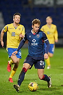 Harry Paton of Ross County during the Scottish Premiership match between Ross County FC and St Johnstone FC at the Global Energy Stadium, Dingwall, Scotland on 2 January 2021during the Scottish Premiership match between Ross County FC and St Johnstone FC at the Global Energy Stadium, Dingwall, Scotland on 2 January 2021