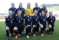 Fotball<br /> UEFA European Women's Under-19 Championships<br /> Group B<br /> Mjøndalen 18.07.2014<br /> Irland v England 2:1<br /> Foto: Morten Olsen, Digitalsport<br /> <br /> Lagbilde Irland<br /> Brooke Dunne (1) <br /> Grace Wright (2)<br /> Savannah Mccarthy (3)<br /> Lauren Dwyer (4)<br /> Ciara O'Connell (5)<br /> Chloe Mustaki (6)<br /> Amy O'Connor (8)<br /> Megan Connolly (9)<br /> Clare Shine (10)<br /> Katie Mc Cabe (11)<br /> Sarah Rowe (13)